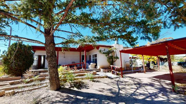 1417 Agua Fria, Santa Fe, NM 87505 (MLS #202104708) :: Summit Group Real Estate Professionals