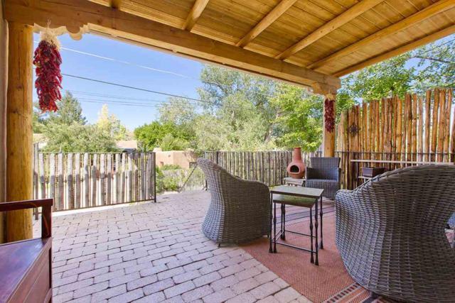 465 Camino Don Miguel, Santa Fe, NM 87505 (MLS #201703892) :: The Very Best of Santa Fe