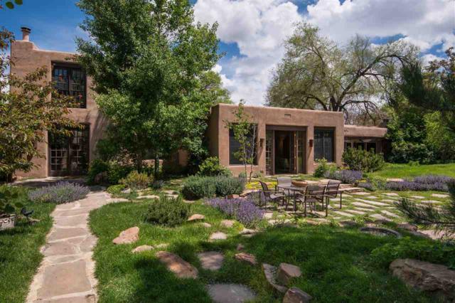 540 Canyon Road, Santa Fe, NM 87501 (MLS #201704641) :: The Very Best of Santa Fe