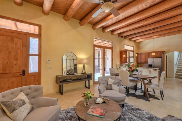 23 Arroyo Privado, Santa Fe, NM 87507 (MLS #201800607) :: The Desmond Group