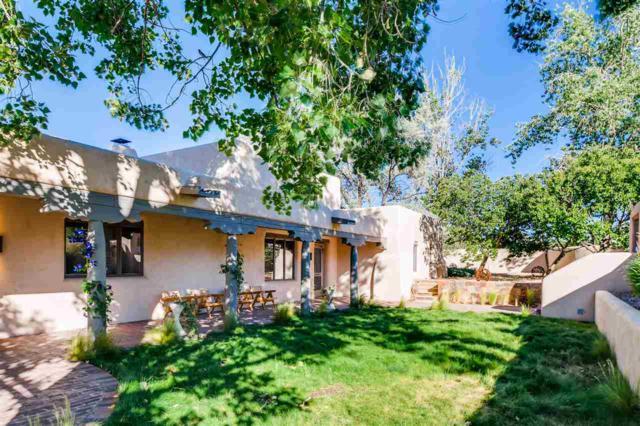 816 & 819 Camino Atalaya, Santa Fe, NM 87505 (MLS #201802876) :: The Very Best of Santa Fe