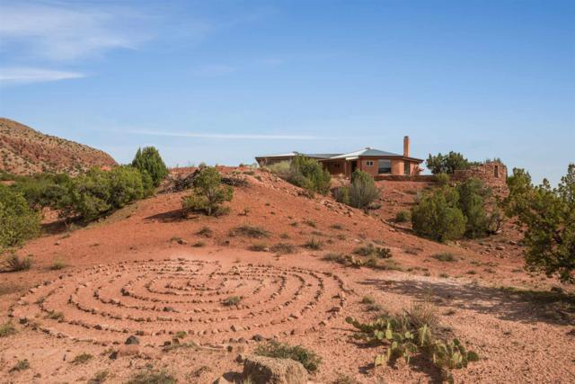 1500 Vista Hermosa Road, Jemez Pueblo, NM 87024 (MLS #201803660) :: The Desmond Group