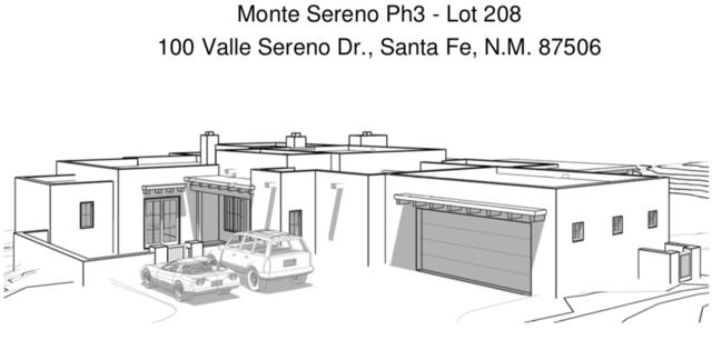 100 Valle Sereno Dr., Lot 208, Santa Fe, NM 87506 (MLS #201804655) :: The Desmond Group