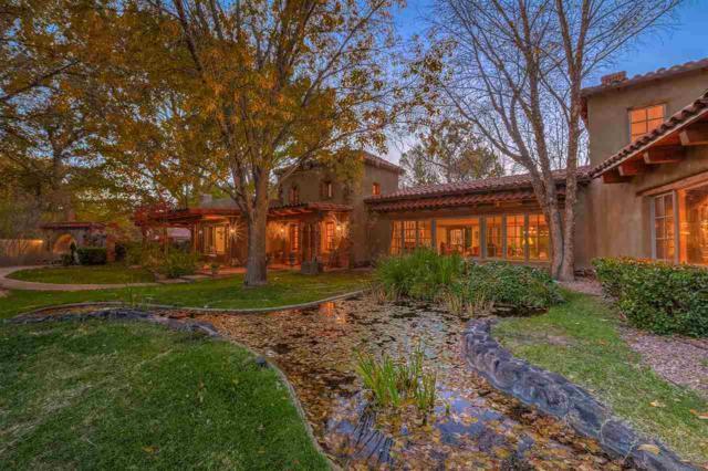 5435 Eakes Road, Nw, Los Ranchos, NM 87107 (MLS #201804734) :: The Very Best of Santa Fe