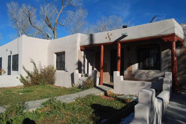 County Road 101 House 168, Chimayo, NM 87522 (MLS #201805398) :: The Bigelow Team / Realty One of New Mexico