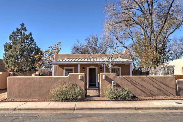 629 Franklin Avenue, Santa Fe, NM 87505 (MLS #201805454) :: The Very Best of Santa Fe