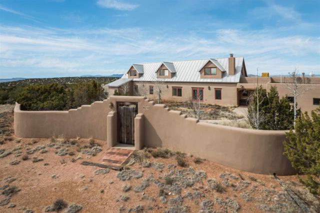 21 Silver Saddle, Lamy, NM 87540 (MLS #201900977) :: The Desmond Group