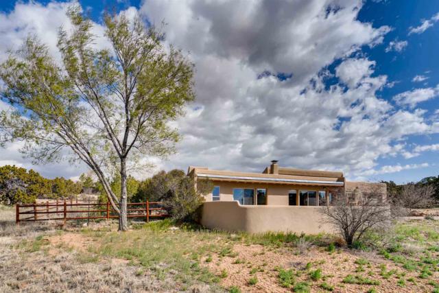 28 Encantado Loop, Santa Fe, NM 87508 (MLS #201901357) :: The Bigelow Team / Realty One of New Mexico