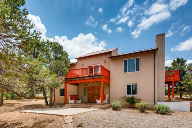 45 Caminito De Pinon, Santa Fe, NM 87505 (MLS #201903389) :: The Desmond Group
