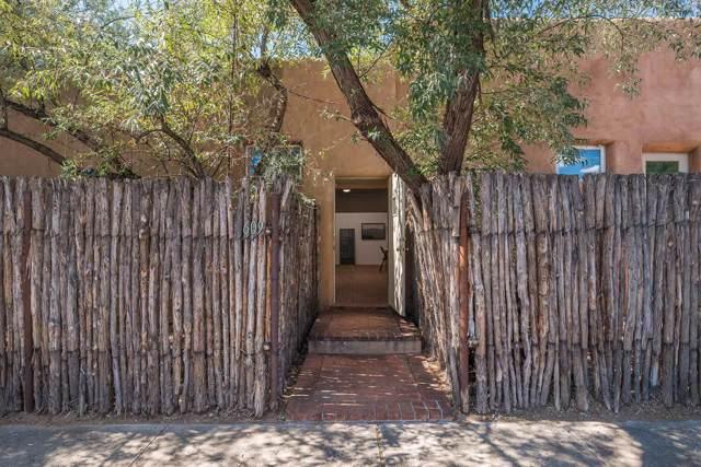 1114 Hickox Street Unit B B, Santa Fe, NM 87505 (MLS #201904602) :: The Desmond Group