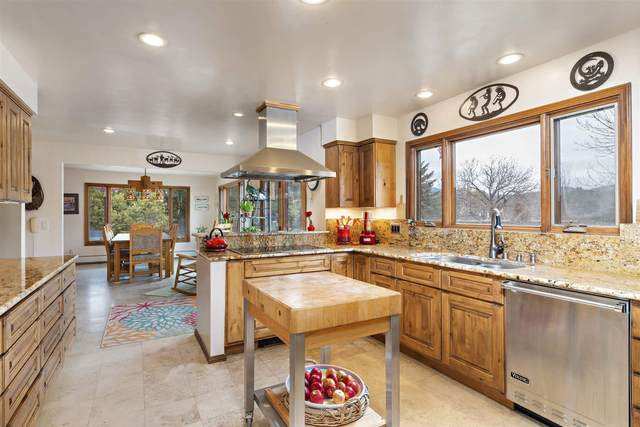 31 Lomas De Tesuque, Santa Fe, NM 87506 (MLS #202100327) :: Stephanie Hamilton Real Estate