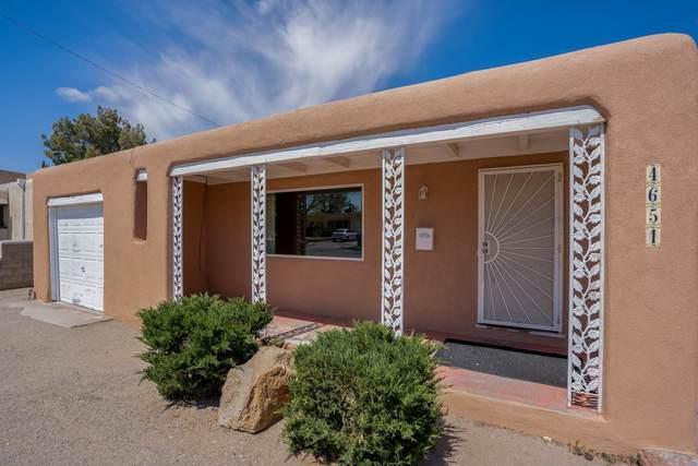 4651 Idlewilde Ln Se, Albuquerque, NM 87108 (MLS #202101711) :: The Very Best of Santa Fe