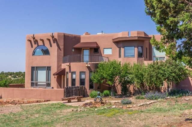 3137 Vista Sandia, Santa Fe, NM 87506 (MLS #202102641) :: Neil Lyon Group | Sotheby's International Realty