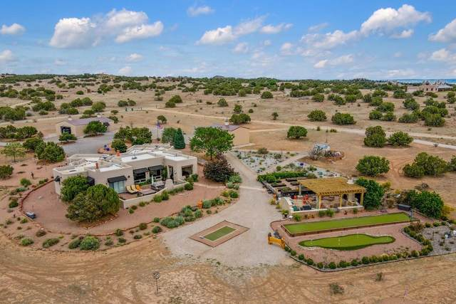 7 Silver Saddle, Lamy, NM 87540 (MLS #202102899) :: Summit Group Real Estate Professionals