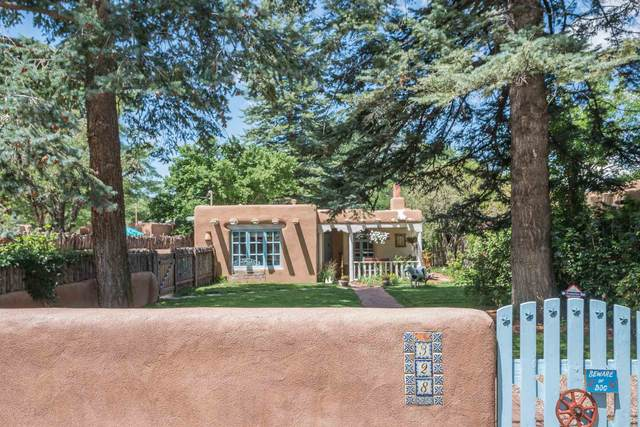 328 Delgado, Santa Fe, NM 87501 (MLS #202103250) :: The Very Best of Santa Fe