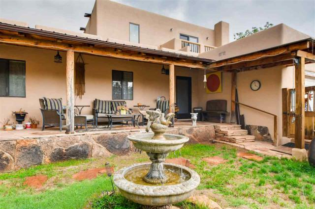 24 Camino Real, Pecos, NM 87552 (MLS #201803711) :: The Desmond Group