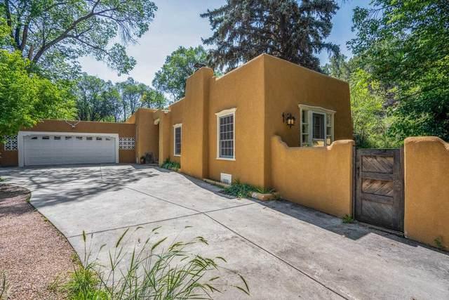 6 Big Tesuque Canyon, Santa Fe, NM 87506 (MLS #202103451) :: Neil Lyon Group | Sotheby's International Realty