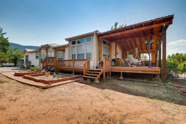 36 Camino Real Loop, Pecos, NM 87552 (MLS #201802925) :: The Desmond Group