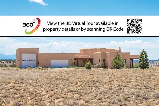 24 Hunter Drive, Medanales, NM 87548 (MLS #202001954) :: The Desmond Hamilton Group
