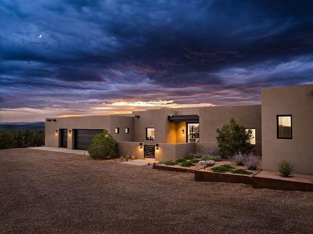 60 Via Del Caballo (Tesoro Enclave, Lot 127), Santa Fe, NM 87506 (MLS #202104165) :: Neil Lyon Group | Sotheby's International Realty