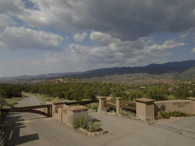 Tesuque Ridge Ranch, Lot 1, Santa Fe, NM 87501 (MLS #201002927) :: The Desmond Group