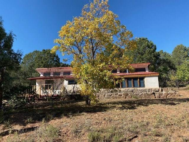 5 Monte Cubre, Glorieta, NM 87535 (MLS #202002388) :: Summit Group Real Estate Professionals