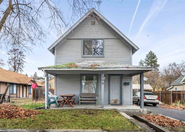 1508 W Dalton Ave, Spokane, WA 99205 (#201828225) :: The Synergy Group