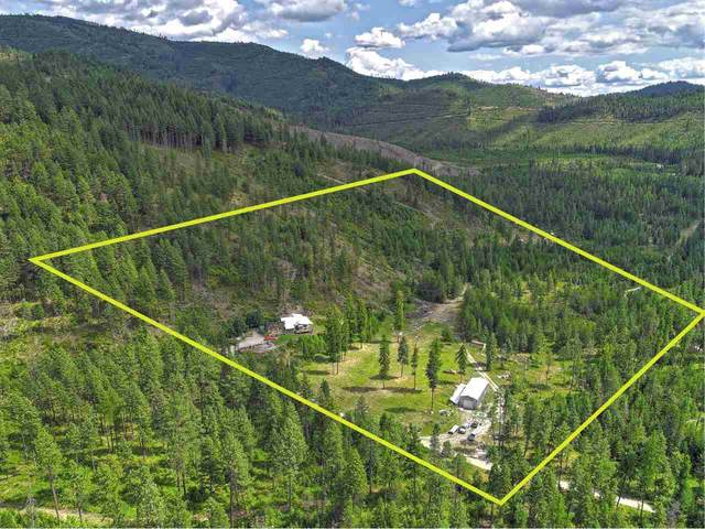 3403 B Cottonwood Creek Rd Two Parcels inc, Chewelah, WA 99109 (#202011985) :: Northwest Professional Real Estate