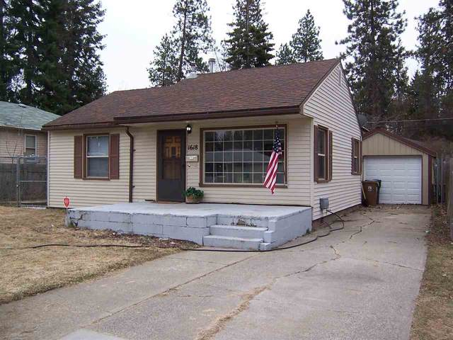 1618 E 40th Ave, Spokane, WA 99203 (#202013768) :: Prime Real Estate Group