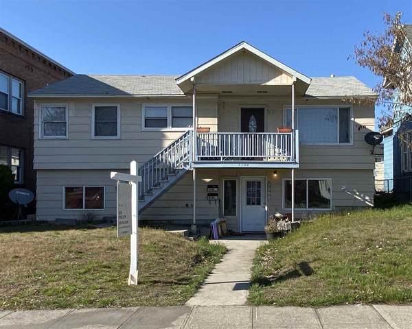 1308 W Maxwell Ave, Spokane, WA 99201 (#202013994) :: The Spokane Home Guy Group