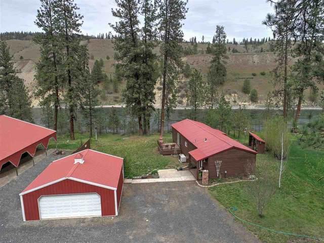 47921 E River View Ln, Ford, WA 99013 (#202014939) :: The Spokane Home Guy Group