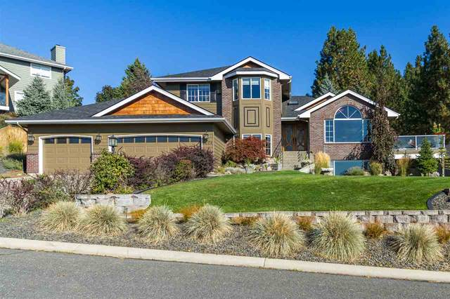 5624 N Vista Grande Dr, Otis Orchards, WA 99027 (#202023378) :: Amazing Home Network