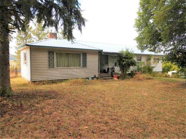4957 Lyons Hill Rd, Springdale, WA 99173 (#202110446) :: Top Spokane Real Estate
