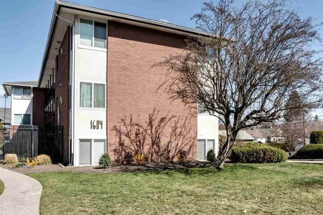1604 W 8th Ave #102, Spokane, WA 99204 (#202113469) :: Cudo Home Group