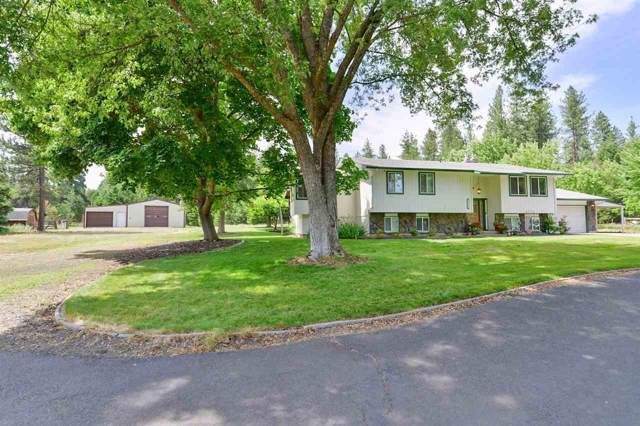 27611 N Bear Lake Rd, Chattaroy, WA 99003 (#201920971) :: The Spokane Home Guy Group
