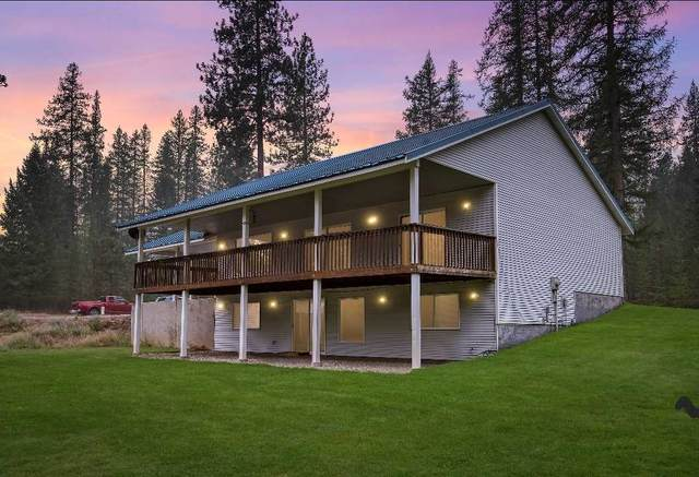 11012 E Whispering Pines Rd, Elk, WA 99009 (#202022429) :: Top Spokane Real Estate