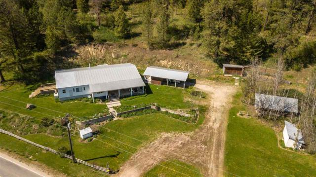 4250 Springdale Hunters Rd, Springdale, WA 99173 (#201912405) :: The Spokane Home Guy Group