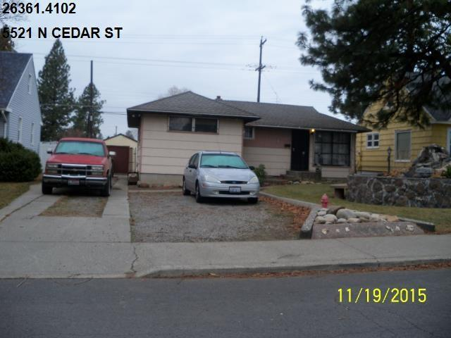 5521 N Cedar St, Spokane, WA 99205 (#201719398) :: The Synergy Group