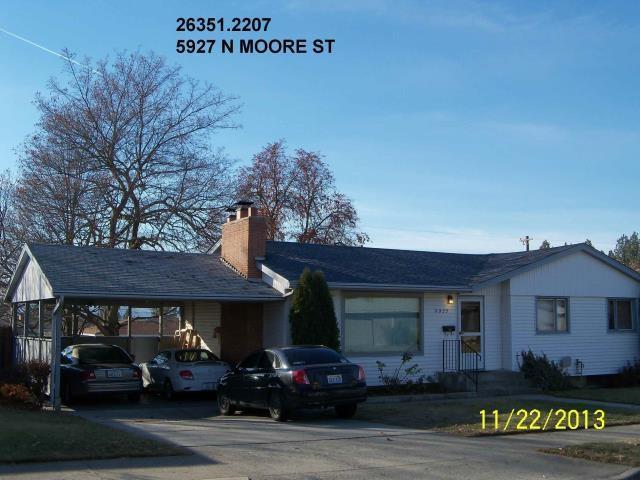 5927 N Moore St, Spokane, WA 99205 (#201815653) :: The 'Ohana Realty Group Corporate Offices