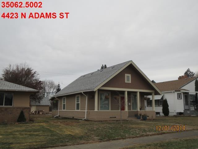 4423 N Adams St, Spokane, WA 99205 (#201917859) :: Top Agent Team