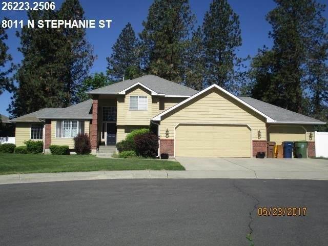 8011 N Stephanie St, Spokane, WA 99208 (#202021766) :: Amazing Home Network