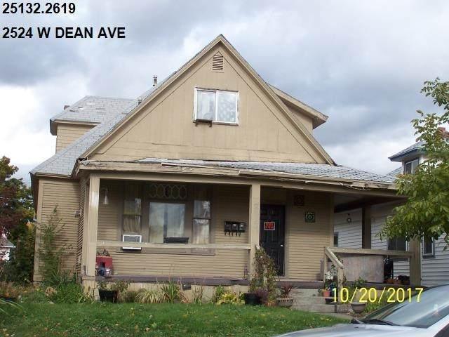 2524 W Dean Ave, Spokane, WA 99202 (#202123006) :: Bernadette Pillar Real Estate
