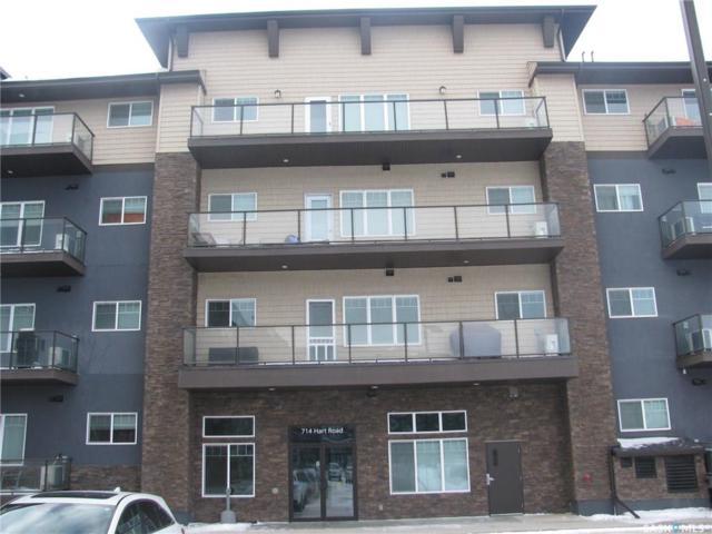 714 Hart Road #408, Saskatoon, SK S7M 1L2 (MLS #SK719386) :: The A Team