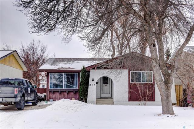 217 Johnson Crescent, Saskatoon, SK S7L 5P6 (MLS #SK720100) :: The A Team