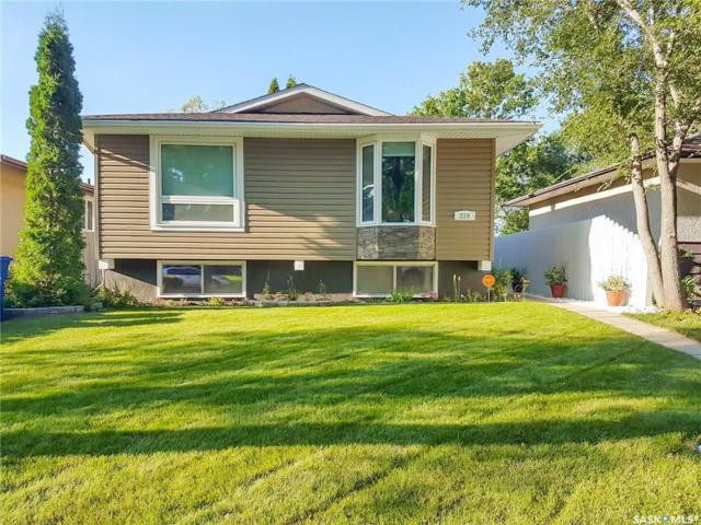 219 Mcmaster Crescent, Saskatoon, SK S7H 4E4 (MLS #SK726190) :: The A Team