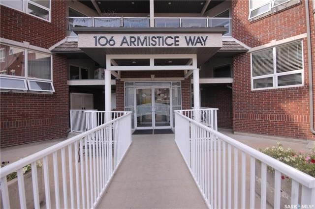 106 Armistice Way #112, Saskatoon, SK S7J 2H4 (MLS #SK727067) :: The A Team