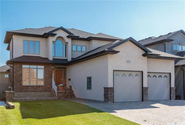 850 Ledingham Crescent, Saskatoon, SK S7V 0B7 (MLS #SK732156) :: The A Team