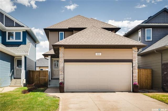 322 Dickson Crescent, Saskatoon, SK S7T 0T8 (MLS #SK732812) :: The A Team