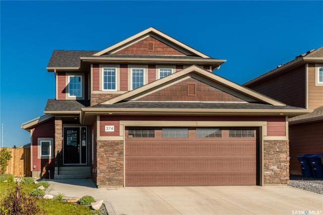 374 Pichler Crescent, Saskatoon, SK S7V 0G3 (MLS #SK739665) :: The A Team