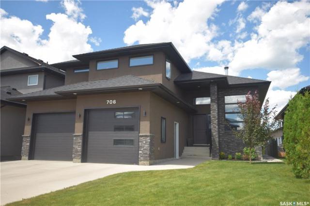 706 Atton Crescent, Saskatoon, SK S7W 0K4 (MLS #SK740727) :: The A Team